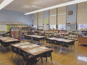 A Chicago-area classroom where Bethel students got some hands-on experience